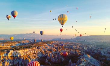 Antalya, Cappadocia, Stamboll, nisje me 17 dhe 18 Shtator, 7 Ditë, €549