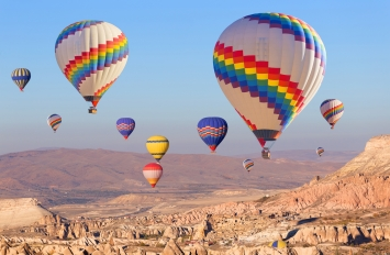 Cappadocia, nisje me 6 dhe 26 Mars, 3 ditë, €319