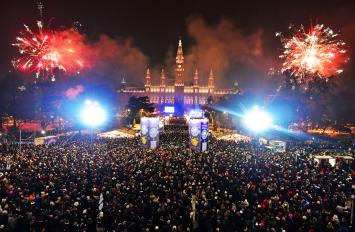 Viti i Ri: Vjenë, 31 Dhjetor, 3 Ditë, €349